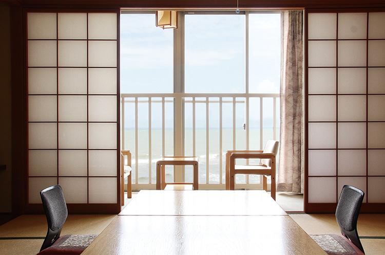 畳の純和風のお部屋