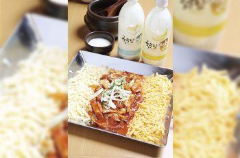 話題の韓国料理『チーズダッカルビ』を君は食べたか!?