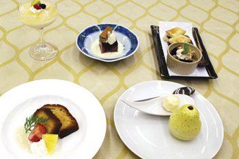 田上町の旬の食材を使ったオリジナルスイーツを提供