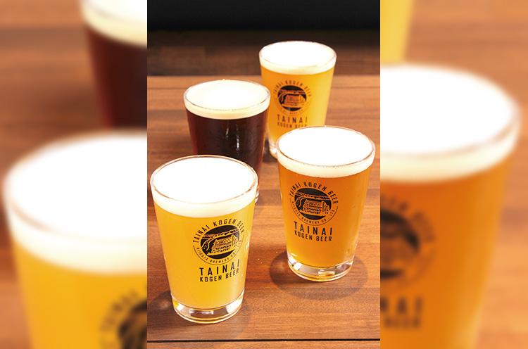 厳選素材と手作りにこだわったクラフトビールを提供する