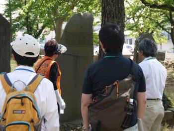 ボランティアガイドと史跡や庭園を巡ろう