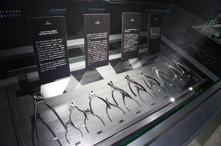 諏訪田製作所の歴史が学べるギャラリー展示も注目!