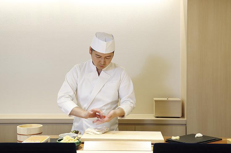札幌・東京で修業を重ねた店主・畠山正義さん