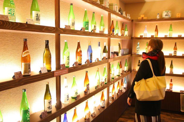 お気に入りの日本酒を見つけて