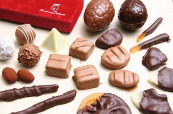 チョコの多様性に惹かれたというシェフが多彩なチョコアイテムを提案