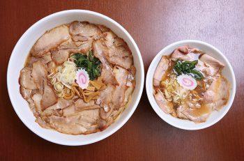 『ちゃーしゅうめん』は通常サイズで麺2玉! 新感覚ショウガ醤油