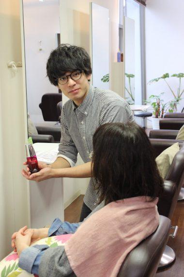 02・坂西 健太さん(hair of SIESTA)