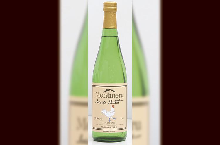 鶏肉料理に合う『 Montmeru Joie de Poulet (モンメル ジョイ・ド・プーレ)』(720ml 1,620円)