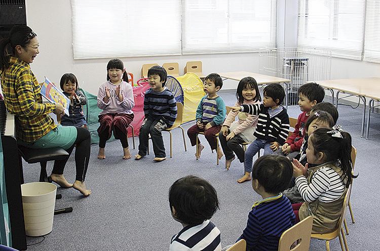 先生が話しているときの子供たちのキラキラした表情がとっても印象的