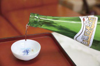 この日本酒はぜひ、栃尾の油揚げと合わせて飲んで下さい