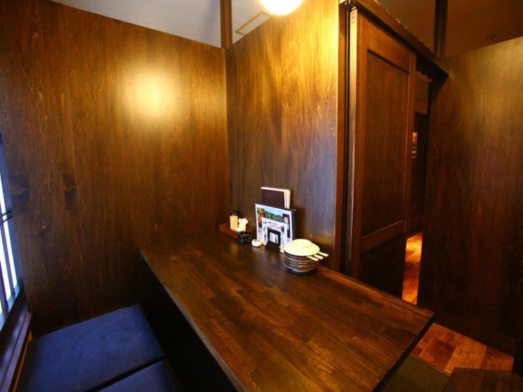 2階のカップル用個室