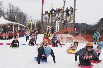 食べて、遊んで、楽しんで! 地域の魅力と戦国の雪国気分を楽しもう!
