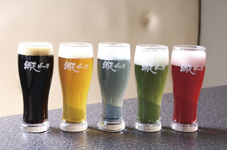 キレイ! まさにインスタ映えビール!