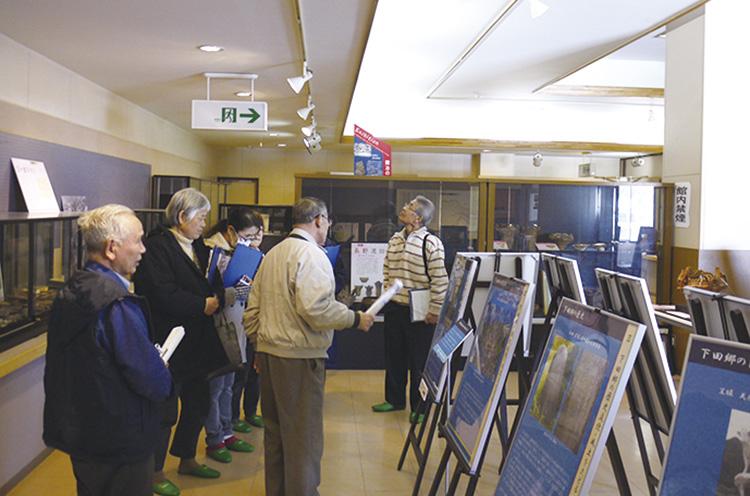下田郷の歴史などが学べる企画展