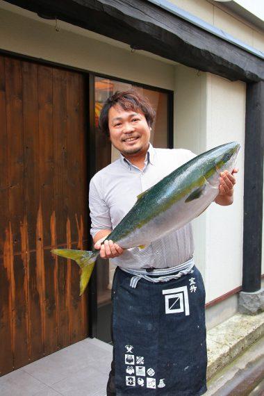 超お得なコース! その日の旬の魚もお出しします!!(ソウズ本町店店長・藤野さん)