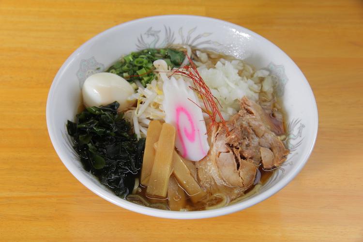 高田昭和ラーメン(900円)