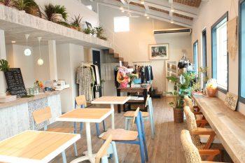 カーブドッチ内に、パン&コーヒー豆&雑貨衣料のお店が新登場!