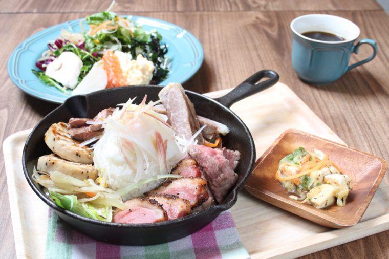 たんとカフェ『1周年祭プレート』1,650円
