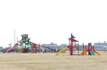 新潟市東区に広々とした公園がオープンしました!