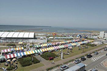 柏崎市の一大イベント! 海風を感じながら、全身でイベントを楽しもう