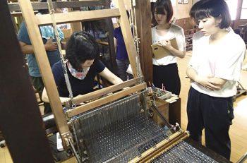 きもの工場を見学できる貴重な機会。きもの職人の技術を、間近に見られるチャンスです!