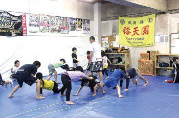 子供たちの限りない夢と可能性を育てる総合格闘技ジム