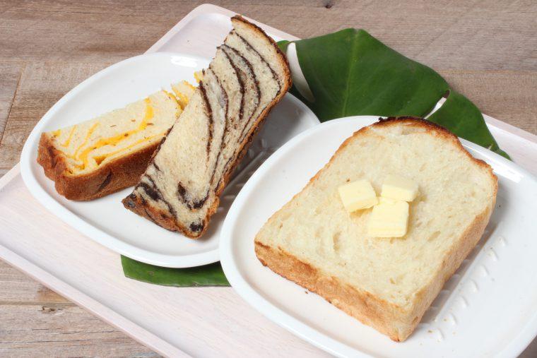 くせのない味わいで、ふわりと柔らか系のパン
