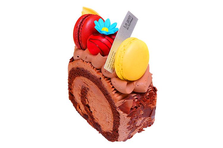 【新潟市北区】アニバーサリーケーキラボいえいの『生チョコロール』