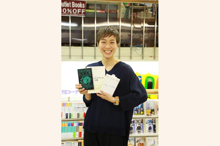 ちなみに井関さんが購入したのはこの3冊です!