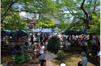 小千谷のお寺を会場にエコをテーマにしたイベントが開催されます。フリマや音楽ライブが楽しめますよ!