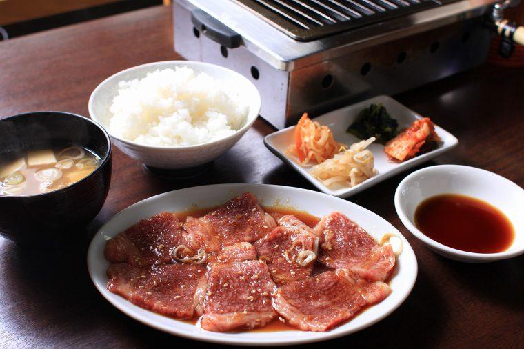 カルビ定食 1,350円