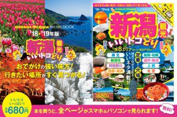 新潟の観光情報をいいトコどりできる本ができました。