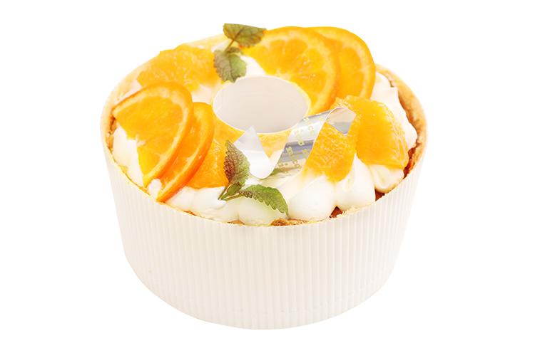 【村上市】お菓子屋さんnicoの『オレンジシフォン』