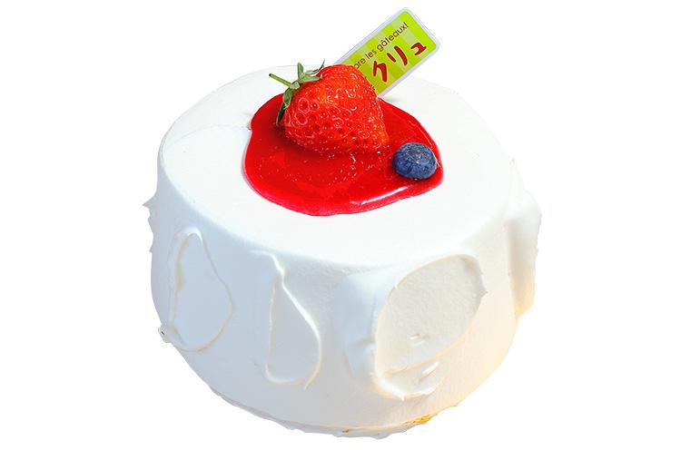 【三条市】菓子工房クリュの『イチゴのシフォンケーキ』