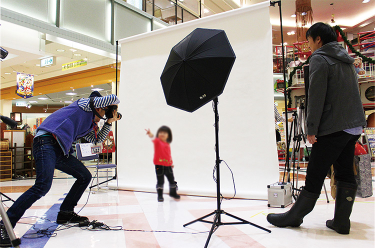 長岡・リバーサイド千秋でキッズ撮影会! 参加費無料! その場で写真をプレゼント!!
