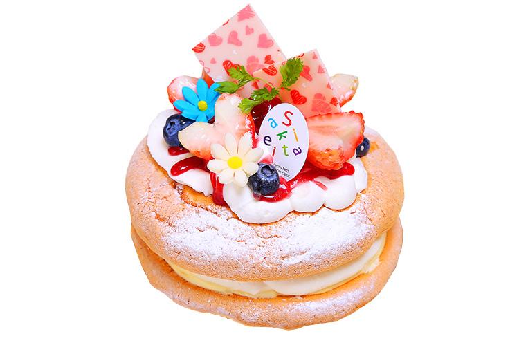 【新潟市北区】アニバーサリーケーキラボいえいの『パンケーキ』