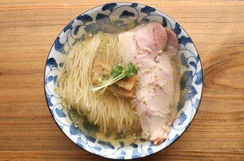 人気店の味を広めるべく 東京から新潟へ。美しすぎる清水のラーメン!