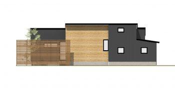 ライフスタイルをいかした平屋スタイルの無垢の家