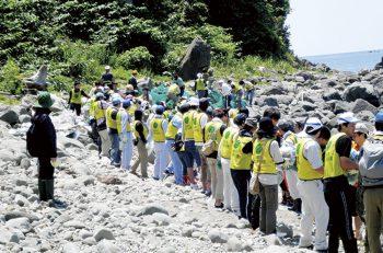 【粟島浦村】粟島の美しい海岸を取り戻すお手伝い『第11回 粟島クリーンアップ作戦』
