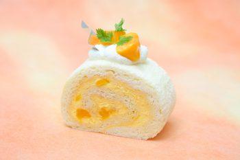 マンゴーとクリームチーズの抜群のコンビネーション スッキリさわやか夏先取りロール