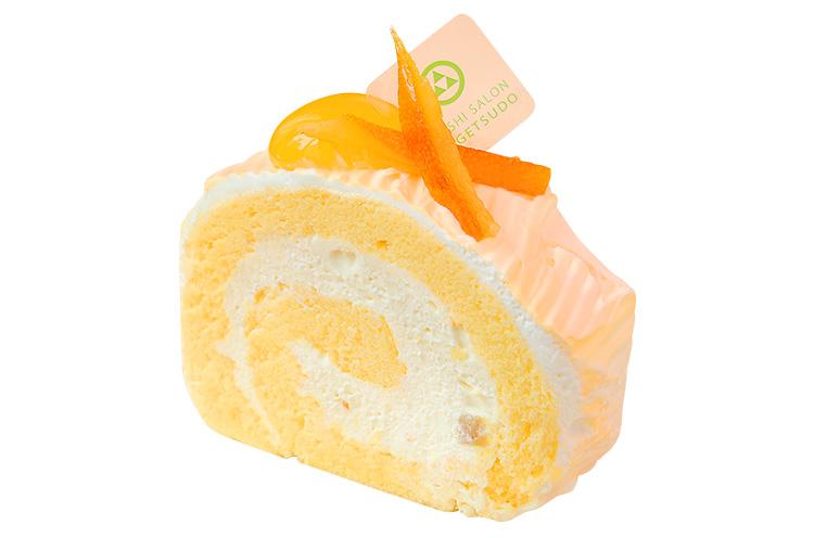 【胎内市】OKASHI SALON 梅月堂の『オレンジのレアチーズロール』