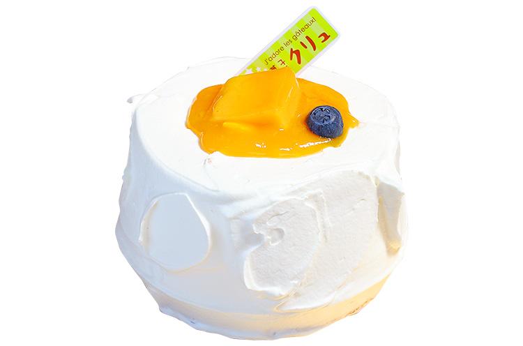 【三条市】菓子工房クリュの『マンゴーのシフォンケーキ』