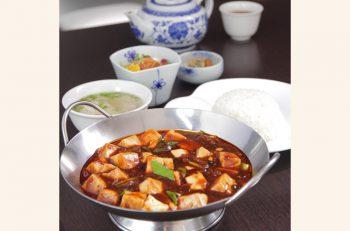 中国・重慶の料理人直伝の麻婆豆腐、絶品です。