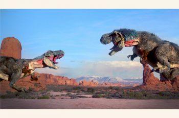 まるで生きているかのような大迫力を体験できる恐竜ショーを朱鷺メッセで開催!
