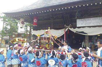 新発田市にある天王神社のおまつり