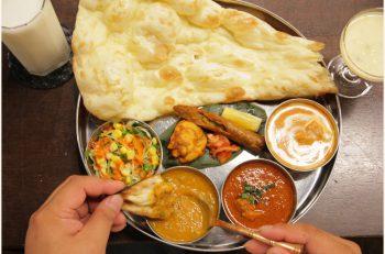 カレーを3種類選べるけど、「インドの家庭の味」こと、豆カレーはマストですよ!