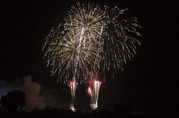 【糸魚川市】早川地区が一体となって打ち上げる花火大会