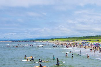 夏の聖籠町は海のイベントが盛りだくさん!
