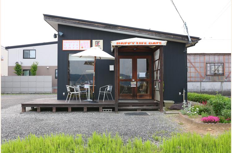 Pandoraの外観。HAPPY LIFE CAFE店舗を利用して営業
