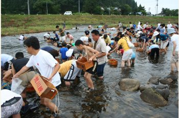 夏休みの思い出に! 関川村の自然を満喫しながら川遊びを楽しもう